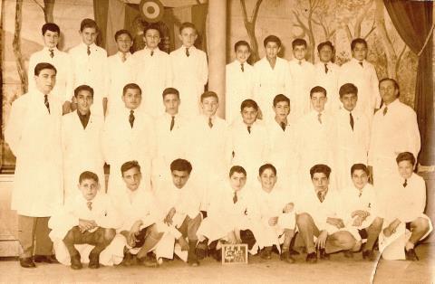 Florentino Ameghino, año 1958, 6to grado