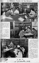 Inaguración de la Biblioteca San Bernardo