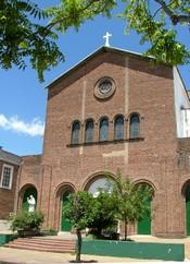 Parroquia Santa María de los Ángeles en el barrio de Coghlan