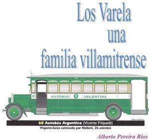 Alberto Pereira Ríos - Los Varela, una familia villamitrense - Martina