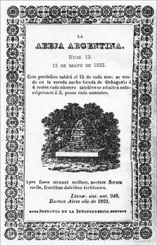 La Abeja Argentina, primera revista argentina