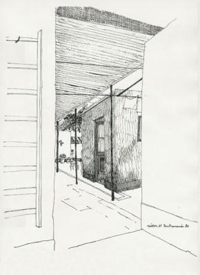 LA CASA DE MI INFANCIA: La piecita-taller de mi abuelito.