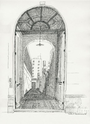 UN PH DE ANTES 2-Un largo corredor.