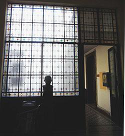 Los vitrales en la Ex-Editorial Estrada