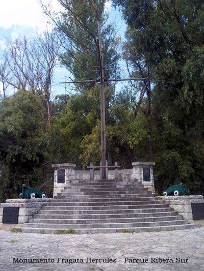 Mástil Naval - Monumento Fragata Hércules - Parque Ribera Sur - Villa Riachuelo