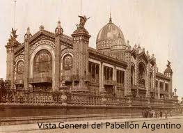 Vista General del Pabellón Argentino