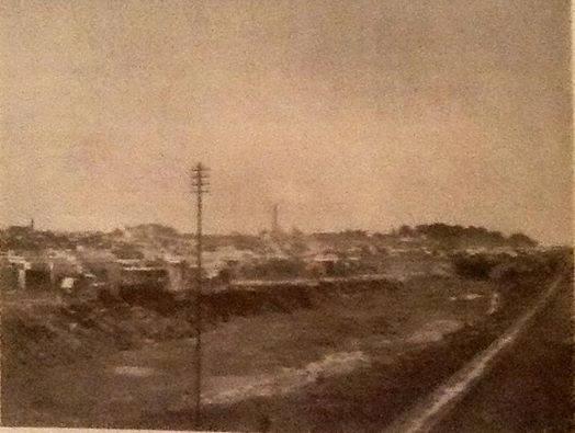 Vista del Ramal Riachuelo-Liniers del Ferrocarril del Oeste