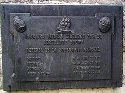 Placa monumento