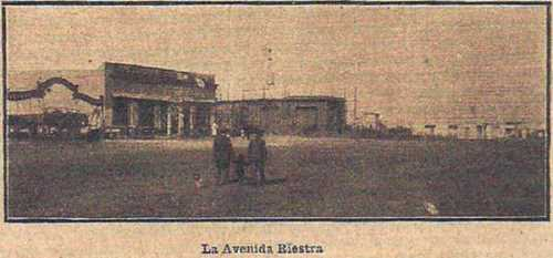 Av. Riestra en 1910 - Villa Lugano