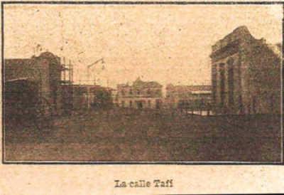 La calle Tafí, 1910, Villa Lugano