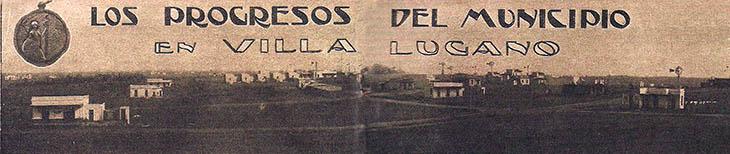 Panorámica de Villa Lugano 1910