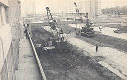Lugano I y II en construcción