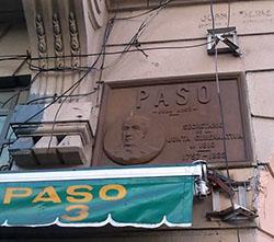 Placa Juan José Paso