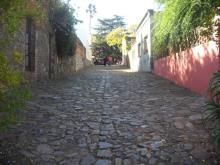 adoquines en Sacramento, Uruguay