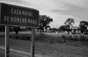 Añatuya, casa natal Homero Manzi