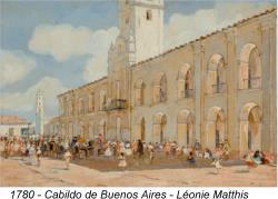 Cabildo en 1780