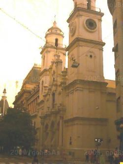 San Ignacio es la Iglesia mas antigua de Buenos Aires