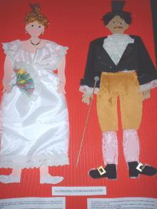 Vestimenta usada en 1810
