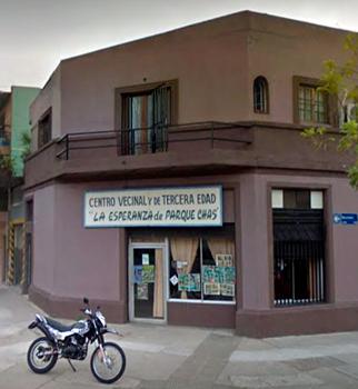 """Centro Vecinal y de la Tercera edad """"La esperanza de Parque Chas"""""""