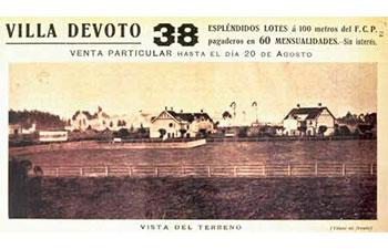 Villa Devoto. 1906