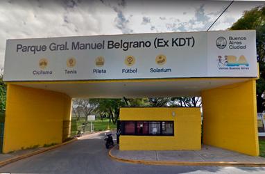 Parque General Manuel Belgrano - Ex KDT - Federación ciclista argentina