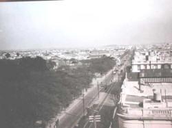 Parque de los Patricios antigüo - foto tomada desde Urquiza y Caseros