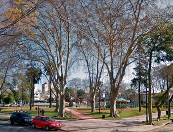 Plaza Zapiola:  Mariano Acha y Juramento.