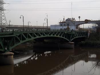 Viejo Puente de La Noria visto desde el Este