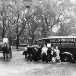 Villa Crespo- 1935- Inundación por desborde del Maldonado