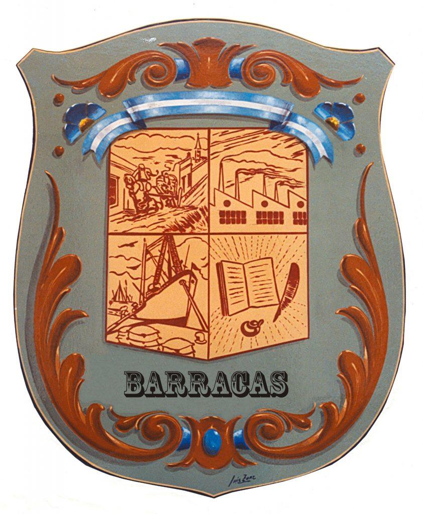 emblema del barrio de Barracas