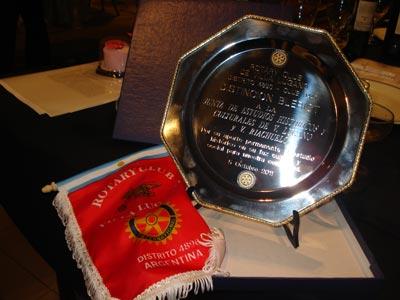 Reconocimiento Rotary