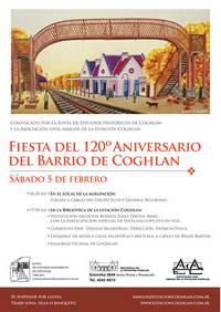 120º Aniversario del barrio de Coghlan