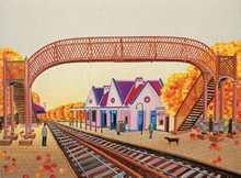 Estación de Coghlan, dibujo de Aniko Szabo