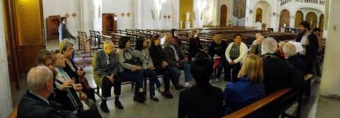 Actos Coghlan por el Bicentenario - Visita Guiada a la Parroquia Santa María de los Angeles
