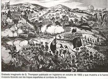 A 200 años de la llegada de la primera invasión inglesas a Barraca