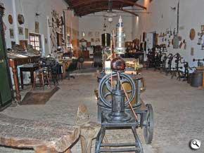 elementos del campamento de Plumerillo, museo de Mendoza
