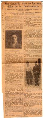 1924-02-12 La Acción Fue detenido otro de los evadidos de la penitenciaría