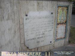 Hitos de las Invasiones Británicas - Hito 11 - Plaza Miserere