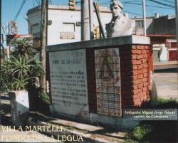Hitos de las Invasiones Británicas - Hito 9 - Villa Martelli