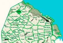Coghlan ubicado en el mapa porteño