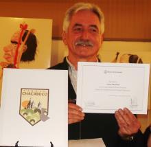 Cesar Martinez autor del emblema del Parque Chacabuco