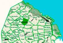 Chacarita en el mapa barrial