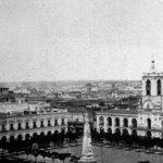 El Cabildo, la Pirámide y San Ignacio, 1867.