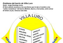 Emblema del barrio de Villa Luro