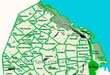 La Boca en el mapa de los barrios