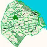 La Paternal en el mapa de los barrios
