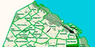 Monserrat en el mapa de los barrios