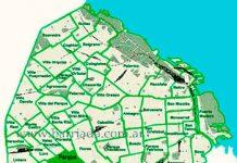 Parque Avellaneda en el mapa barrial