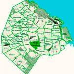 ParqueChacabuco en el mapa de los barrios