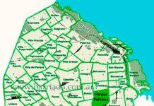Parque Patricios en el mapa de los barrios